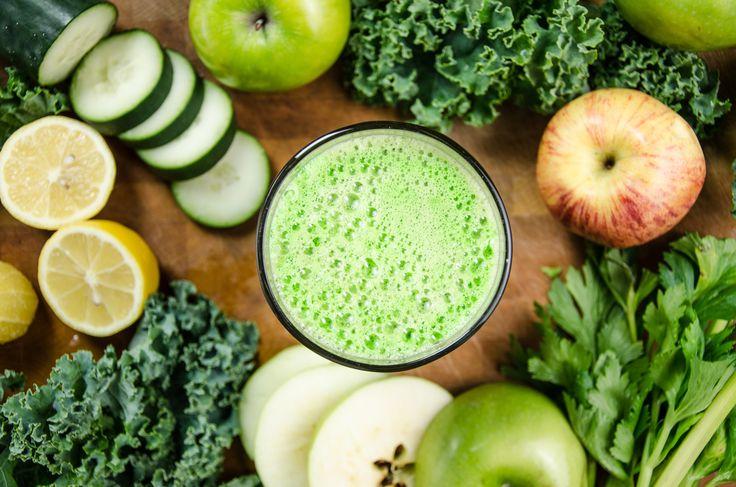 jugos verdes para bajar de peso