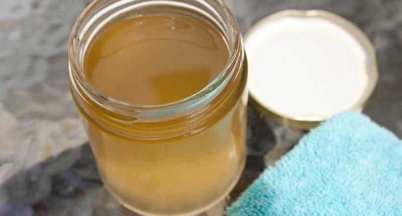 lavar cara con vinagre de sidra