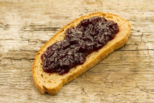 pan con mermelada