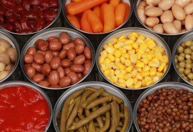 Alimentos enlatados problemas salud