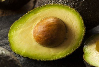 Aguacate mitad