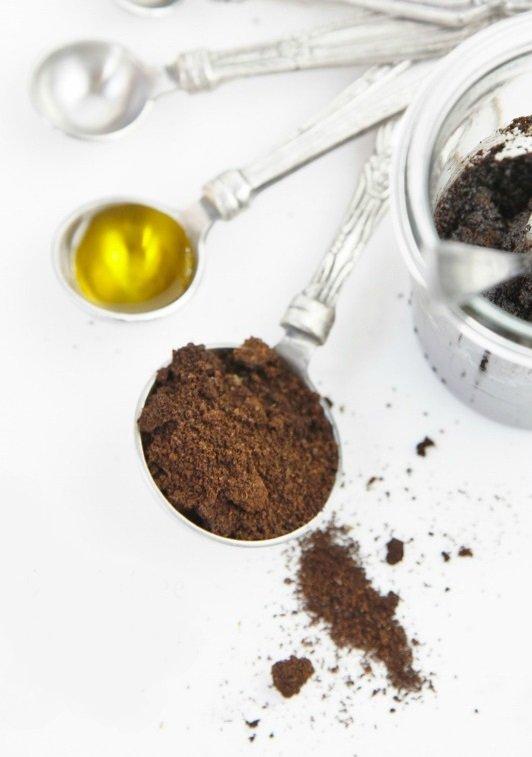 Café para exfoliar