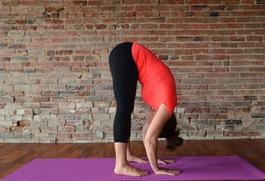 Forward Fold Yoga Poses for Stress Relief side