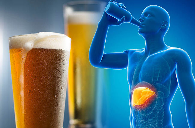 Los efectos nocivos del alcohol en nuestro organismo