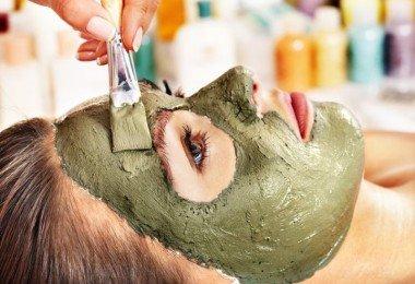 mascara de bentonita rostro