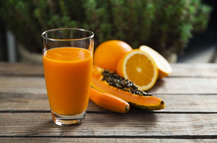 naranja papaya alimentos vitaminas y energia