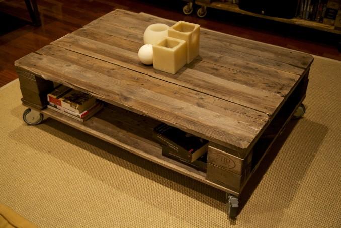 hoy te traemos 10 ideas de muebles con palets que puedes hacer tu mismo - Muebles Palets
