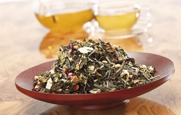 Mezcla de hierbas té