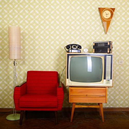 decorar salon estilo vintage Muebles