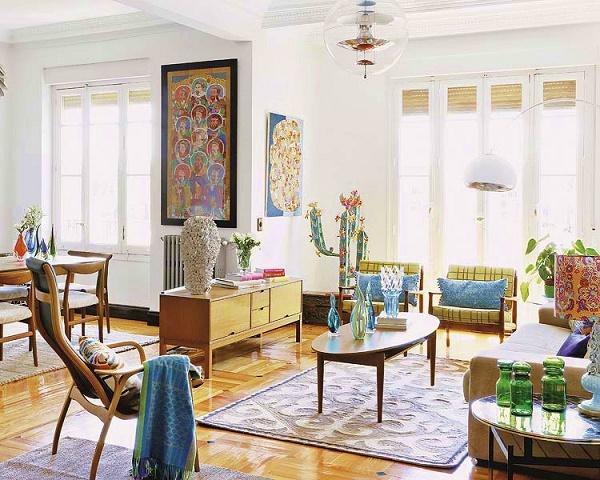 decorar salon estilo vintage Vintage