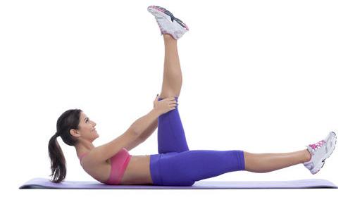 Elevación de las piernas en cuatro tiempos