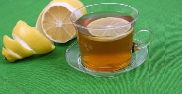 beneficios del té de cáscara de limón