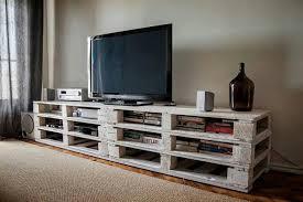 mesa tv con palets
