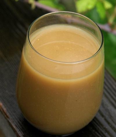 Remedio energizante avena y té