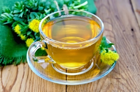 Remedio energizante Té de rhodiola