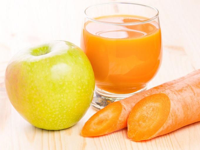 jugo de zanahoria para eliminar las piedras en los riñones