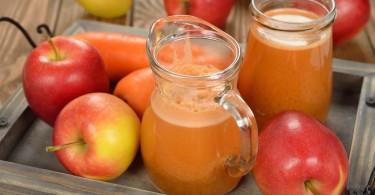 jugo manzana zanahoria
