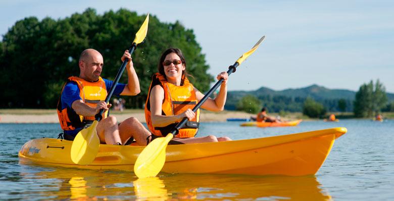 kayak para una panza plana