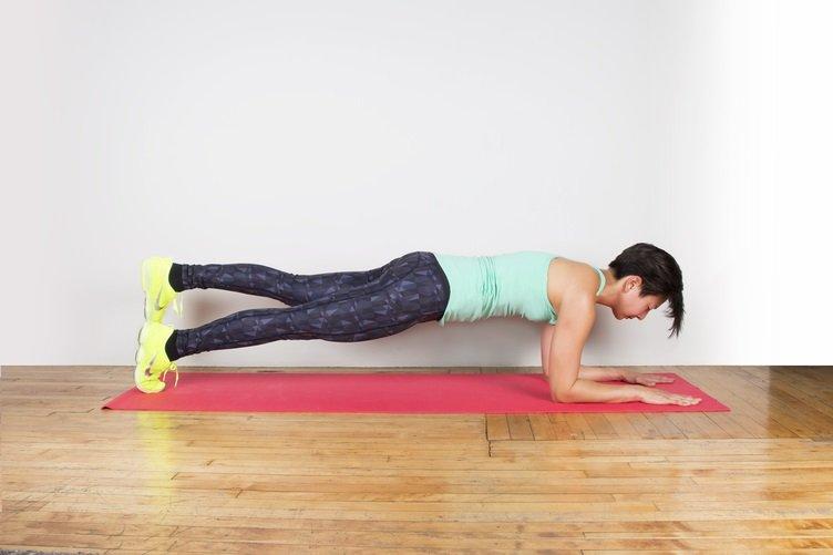 plank con una pierna