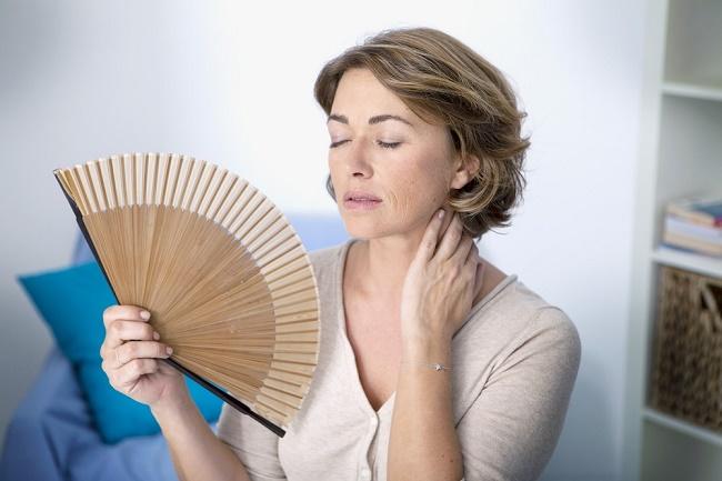 sobre la menopausia y los bochornos en las mujeres
