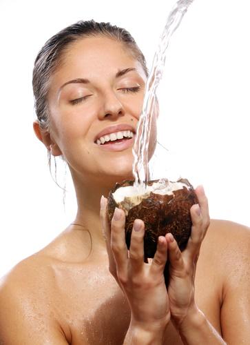 Agua de coco belleza