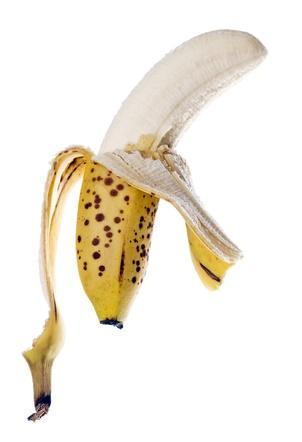 bananas maduras pelada