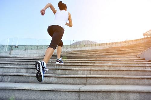 Perder peso Mujer corriendo