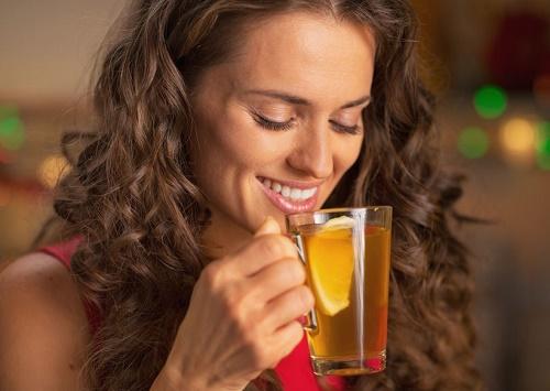 Perder peso tomando té