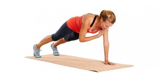 Plank hombro