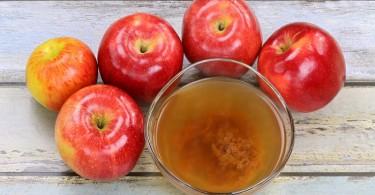 Vinagre de sidra de manzana con madre manzanas