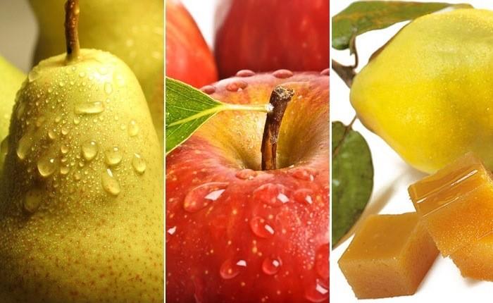 Una deliciosas manzanas y peras como quemagrasas naturales