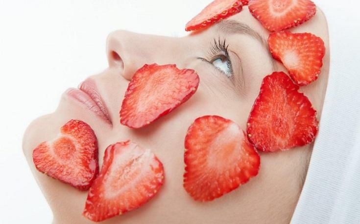 fresa como antioxidante