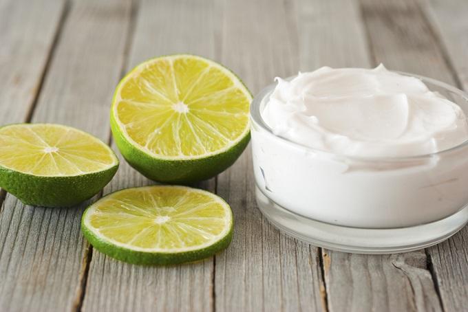 peeling natural con limon