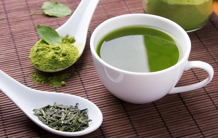 té verde como antioxidante