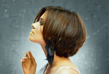 Corte de pelo peinado
