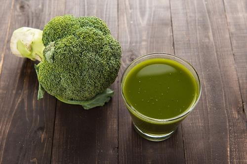 Jugo de brócoli
