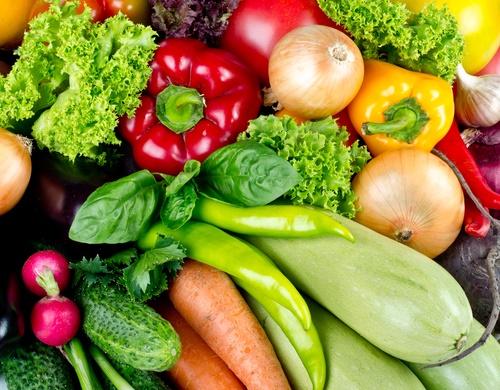 ensalada anticáncer Vegetales