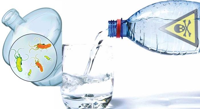 5 razones para no tomar agua embotellada
