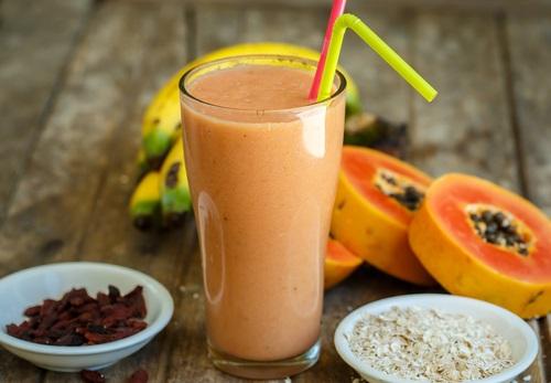 plátanos papaya limpiar el colon