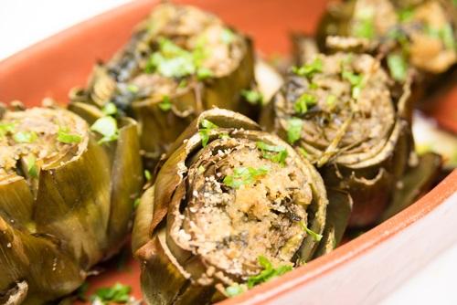 receta con alcachofas que ayudan a adelgazar