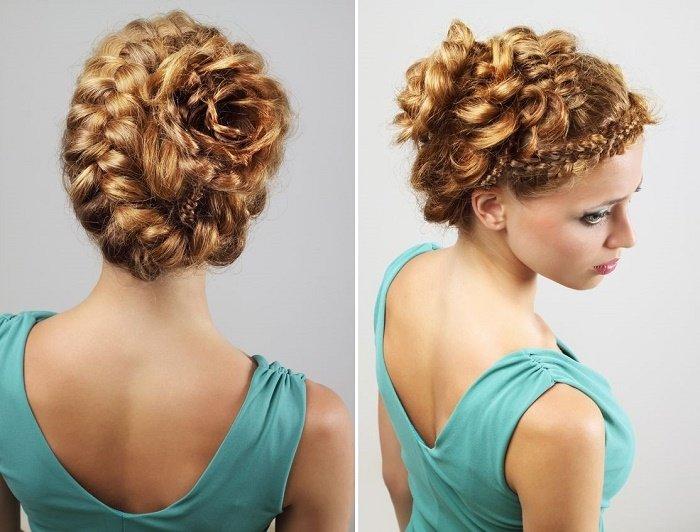 27 Peinados Faciles Con Trenzas - Los-recogidos-mas-elegantes