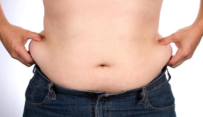 jugos para estilizarse el vientre masculino