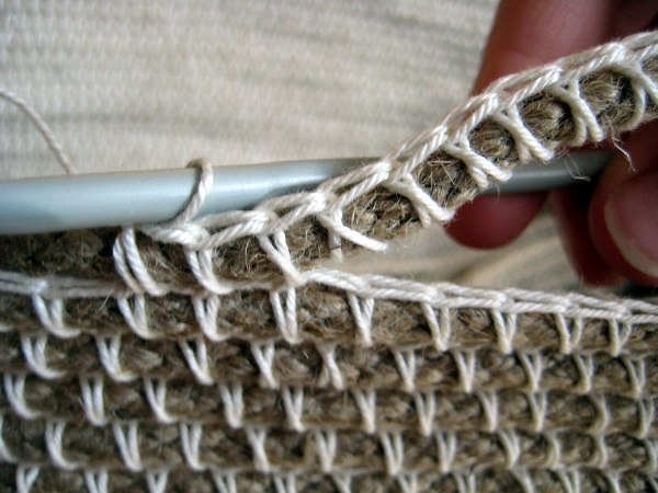 final ed canasta a crochet