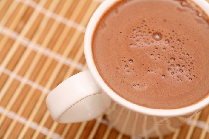 chocolate caliente saludable