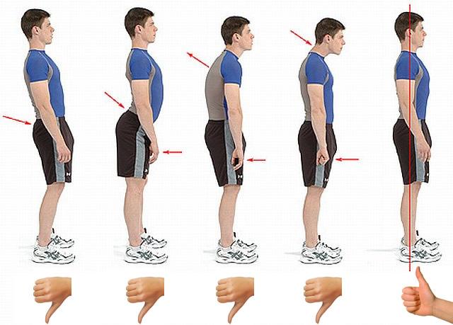 vencer la fatiga corrigiendo postura