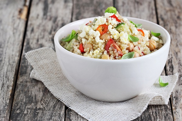 quinoa dieta mediterránea