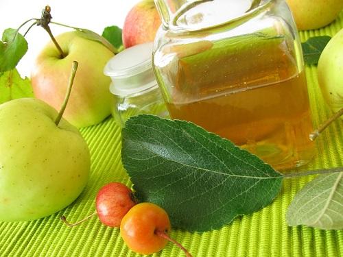 vinagre de manzana para tratar la diarrea
