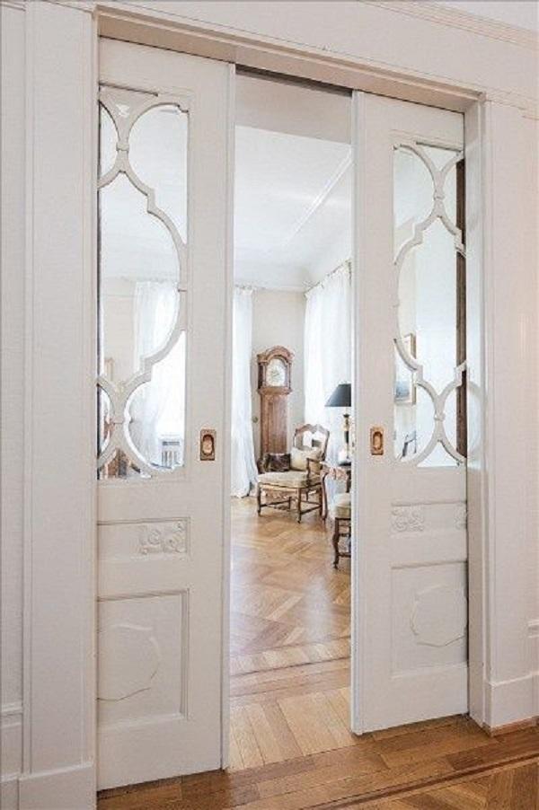 25 ideas de puertas interiores para el hogar for Puertas metalicas para patio