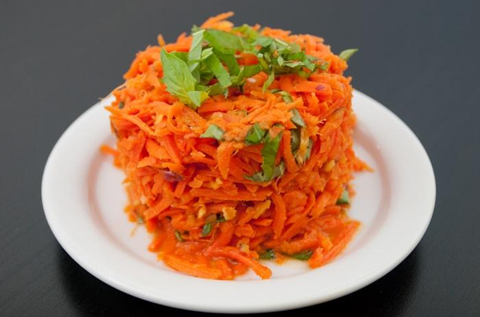 ensalada de zanahoria para dietas reductoras