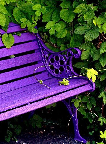 bancas jardín decorativos